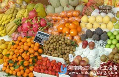 卖水果的摊子