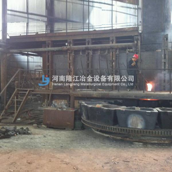 连续吹炼炉 固定式冰铜吹炼炉