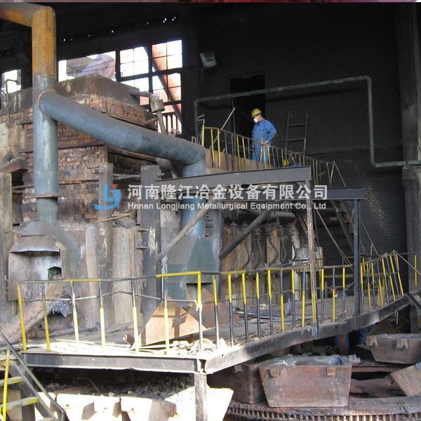 冰铜连吹炉 固定式吹炼炉 反射