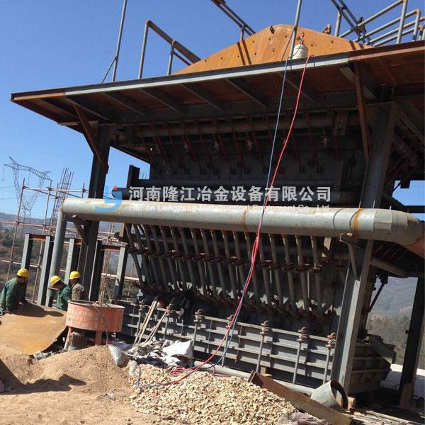6m2硫化铜矿鼓风炉 冶金熔炼设