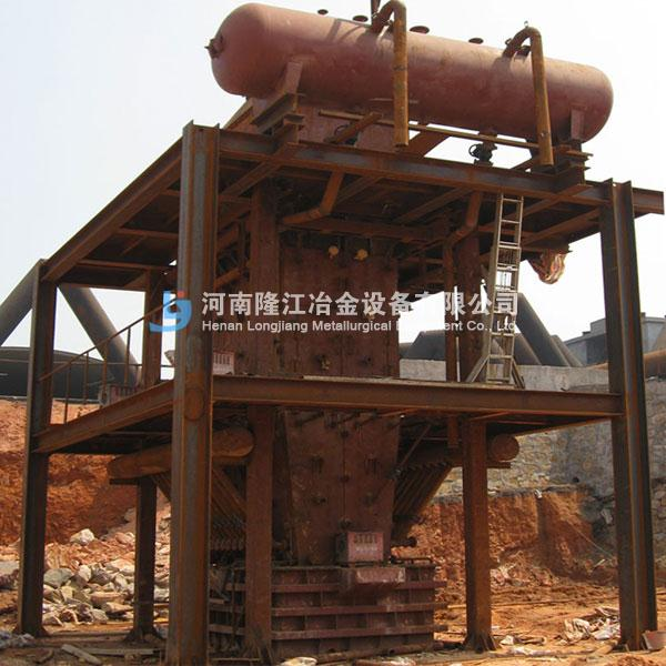 3.2m2硫化铅鼓风炉 铅锌矿鼓风