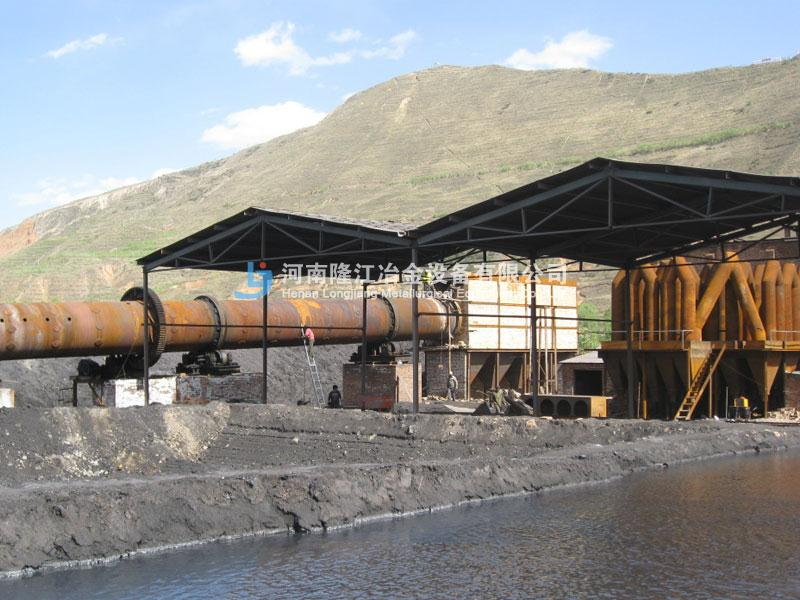 2009年 Φ3.2m*52m氧化锌回转窑